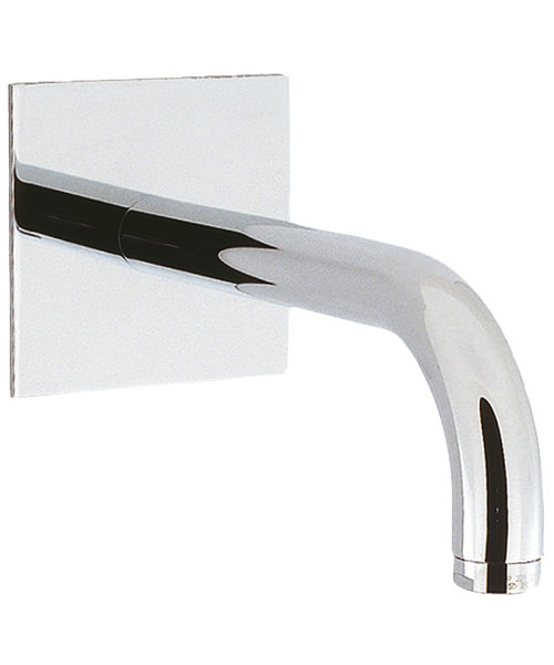 Crosswater Design 160mm Wall Mounted Bath Spout Chrome