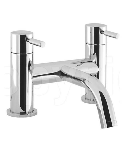 Crosswater Design Deck Mounted Bath Filler Tap Chrome