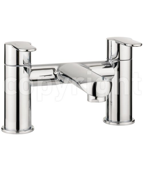 Crosswater Voyager Deck Mounted Bath Filler Tap Chrome