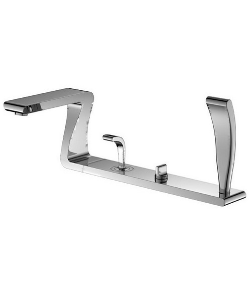 Phoenix ZD Series 4 Hole Deck Mounted Bath Shower Mixer Tap