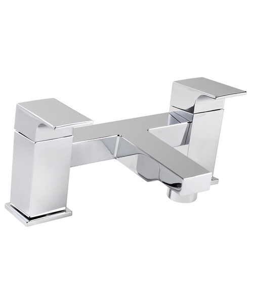 Phoenix RI Series Deck Mounted Bath Filler Tap Chrome