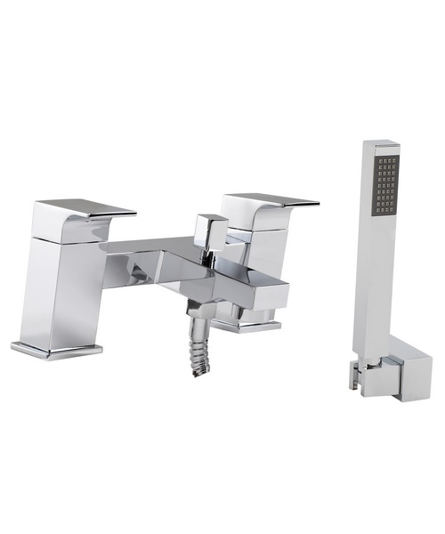 Phoenix RI Series Deck Mounted Bath Shower Mixer Tap With Handset