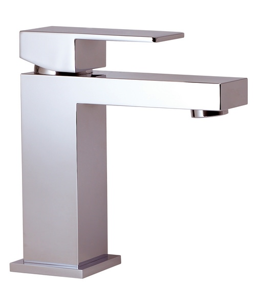 Phoenix CU Series Single Lever Basin Mixer Tap With Sprung Waste