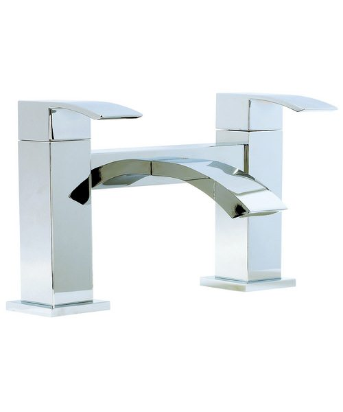 Phoenix AF Series Deck Mounted Bath Filler Tap Chrome