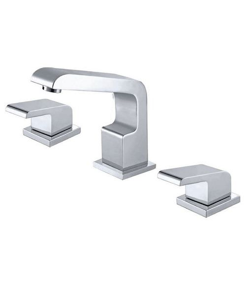 Phoenix RW Series 3 Hole Deck Mounted Bath Filler Tap Chrome
