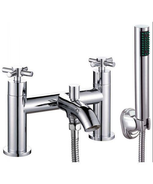 Phoenix CR Series Bath Shower Mixer Tap Chrome