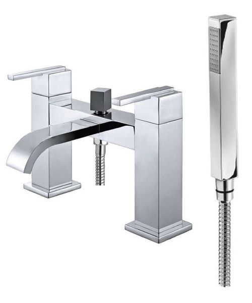 Phoenix BQ Series Deck Mounted Bath Shower Mixer Tap Chrome