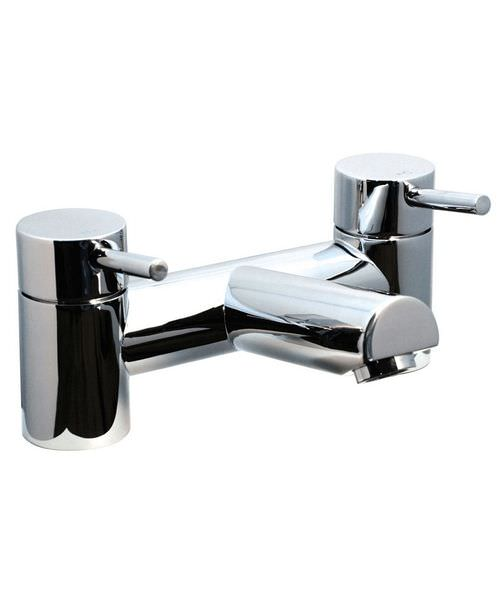 Phoenix PL Series Deck Mounted Bath Filler Tap Chrome