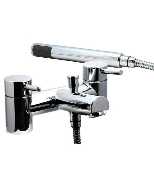 Phoenix PL Series Deck Mounted Bath Shower Mixer Tap With Kit