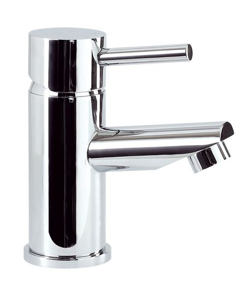 Phoenix PL Series Basin Mono Tap With Sprung Waste Chrome