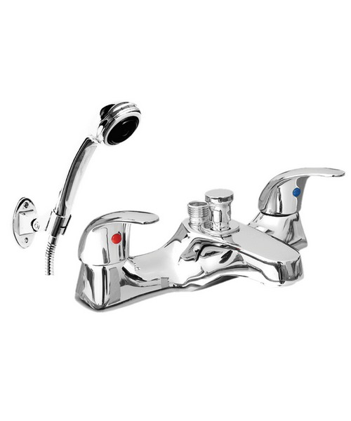 Phoenix JA Series Deck Mounted Bath Shower Mixer Tap With Kit