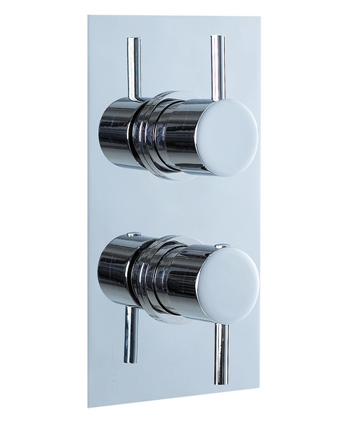 Phoenix Concealed Thermostatic Shower Valve Round Head