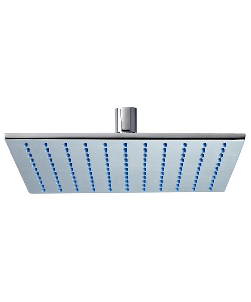 Phoenix Design Square Shower Head 300x300mm With Swivel Elbow