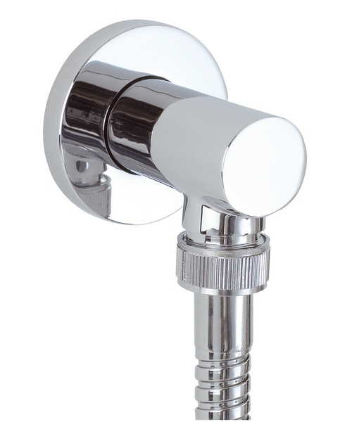 Phoenix Round Shower Outlet Elbow Chrome
