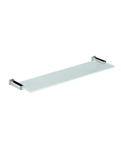 Bristan Qube Frosted Glass Shelf 440mm