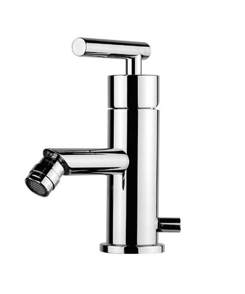 Imperial Aquila Monobloc Bidet Mixer Tap With Pop Up Waste