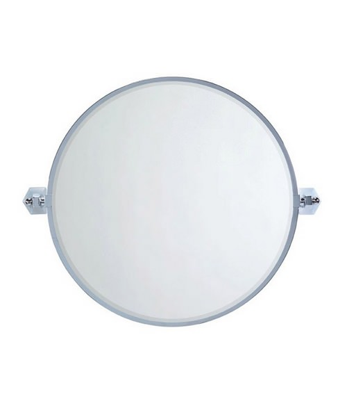 Imperial Astoria Wall Mounted Round Bevelled Mirror 540mm