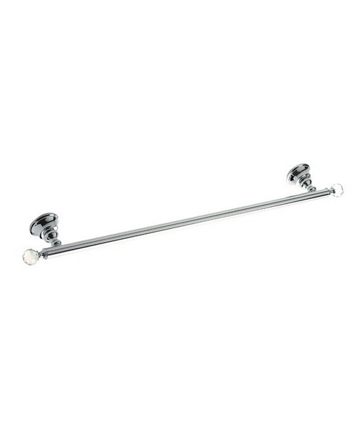 Imperial Pimlico Wall Mounted Single Towel Rail 620mm