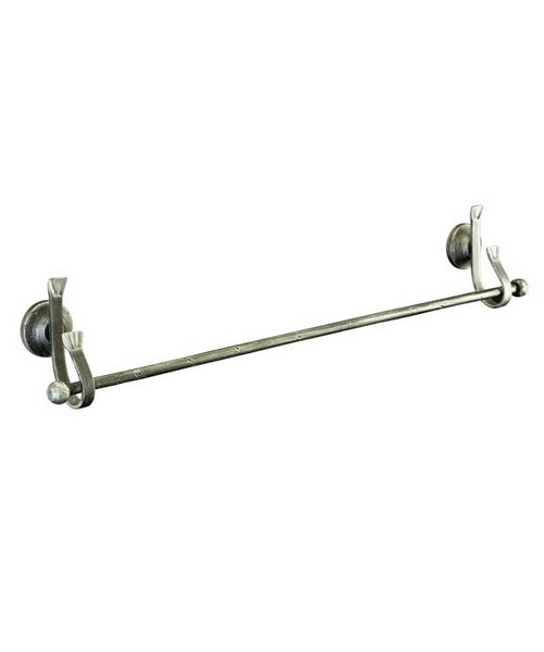 Imperial Meleto Wall Mounted Single Towel Rail 60cm