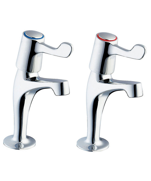 Deva Lever Action Sink Taps With 3 Inch Lever