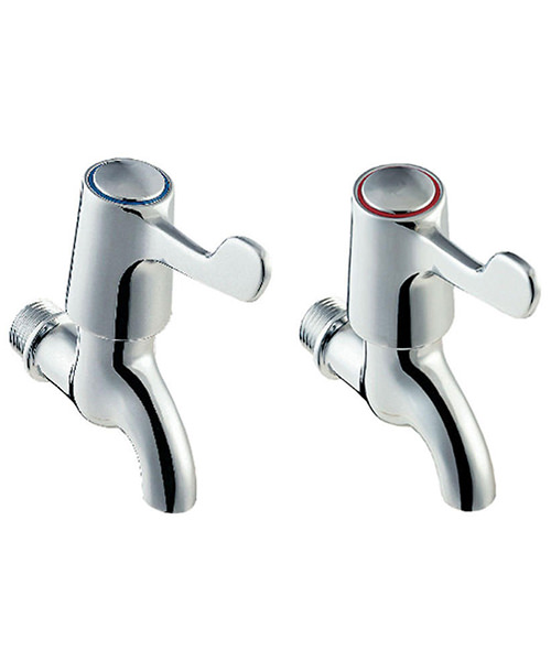 Deva Lever Action Bib Tap Chrome