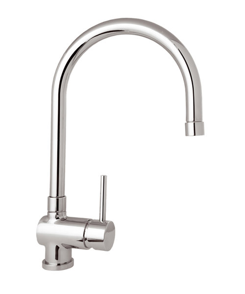 Deva Stick Kitchen Mono Sink Mixer Tap With Pull Out Rinser