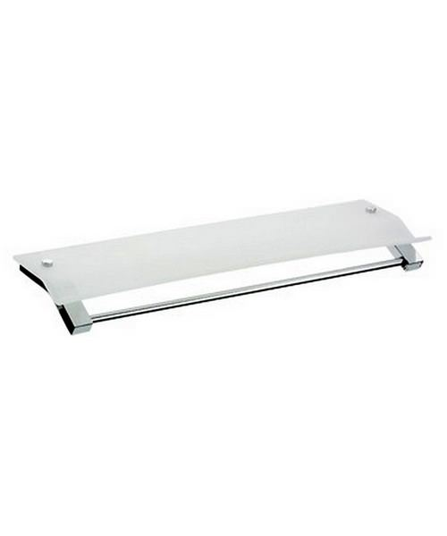 Bristan Twist Acrylic Shelf 610mm