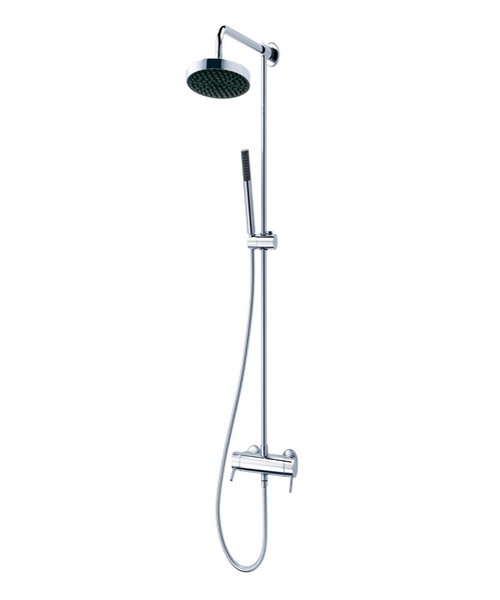 Triton Unichrome Thames Thermostatic Bar Diverter Shower And Kit