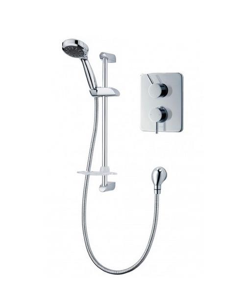 Trition Unichrome Thames Dual Control Mixer Shower
