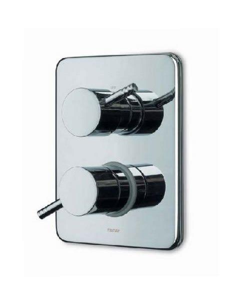 Triton Unichrome Thame Dual Control Mixer With Diverter