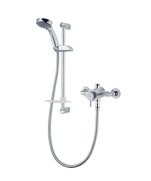 Triton Unichrome Thames Exposed Mini Sequential Mixer Shower