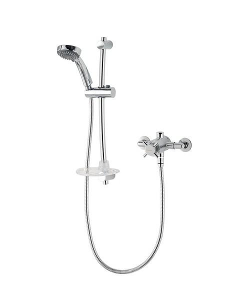 Triton Unichrome Mersey Exposed Mini Sequential Mixer Shower
