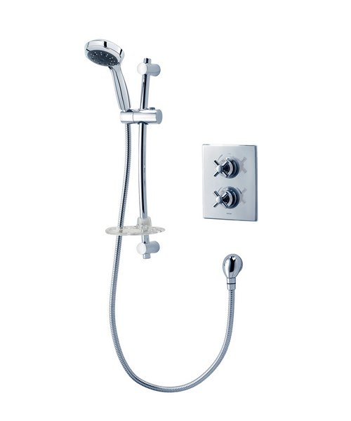 Triton Unichrome Mersey Dual Control Thermostatic Mixer Shower