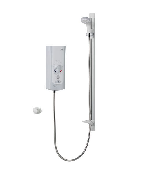 Mira Advance ATL Flex Electric Shower 9.0kW White And Chrome