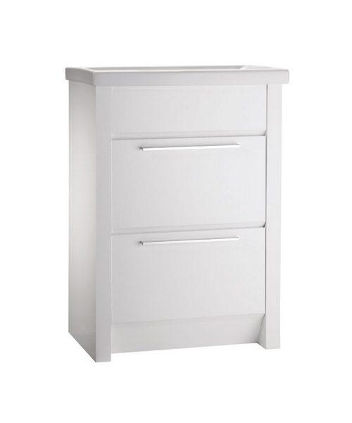 Roper Rhodes Kato 600mm White Floorstanding Washstand