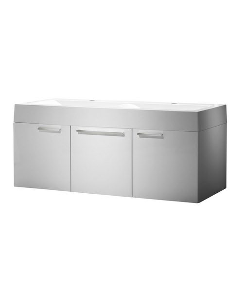 Roper Rhodes Envy 1200mm White Finished Wall Mounted Washstation