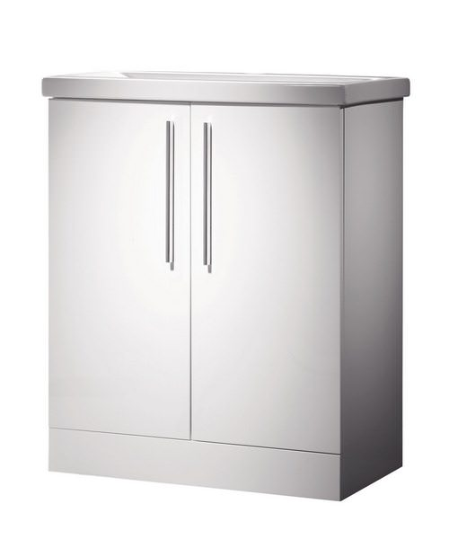 Roper Rhodes Envy 700mm White Floorstanding Washstand