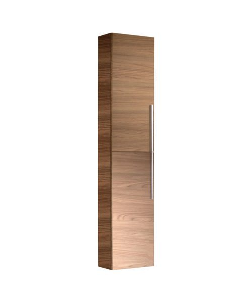 Roper Rhodes Walnut Finished Tall Wall Mounted Storage Unit