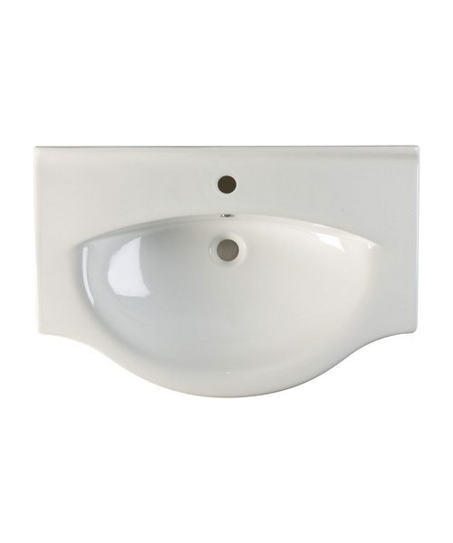 Roper Rhodes Eden 550mm White Finished Ceramic Basin