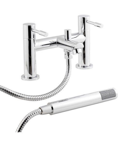 Lauren Series 2 Bath Shower Mixer Tap With Kit