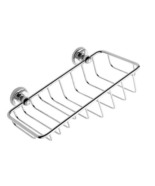 Bristan 1901 Wire Soap And Sponge Basket Chrome