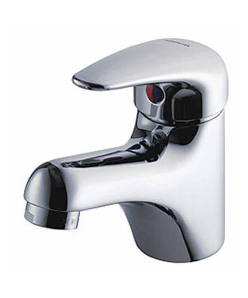 Aqualisa Midas Monobloc Basin Mixer Tap Chrome