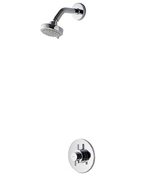 Aqualisa Aspire DL Concealed Thermostatic Shower With 105mm Fixed Head