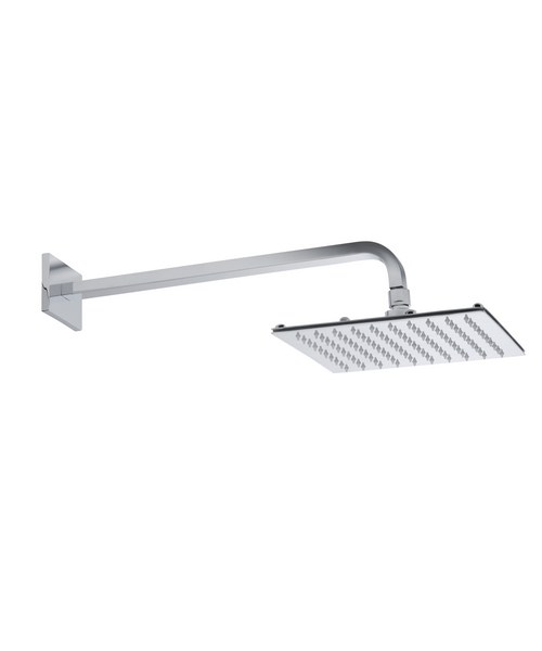 Roper Rhodes 230mm Square Shower Head With Square Fixed Arm