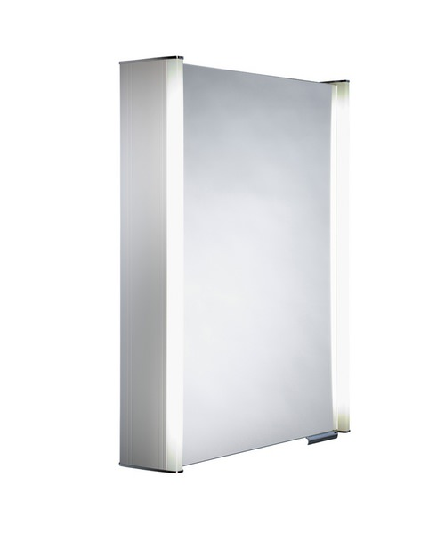 Roper Rhodes Ascension Plateau Glass Door Cabinet-White