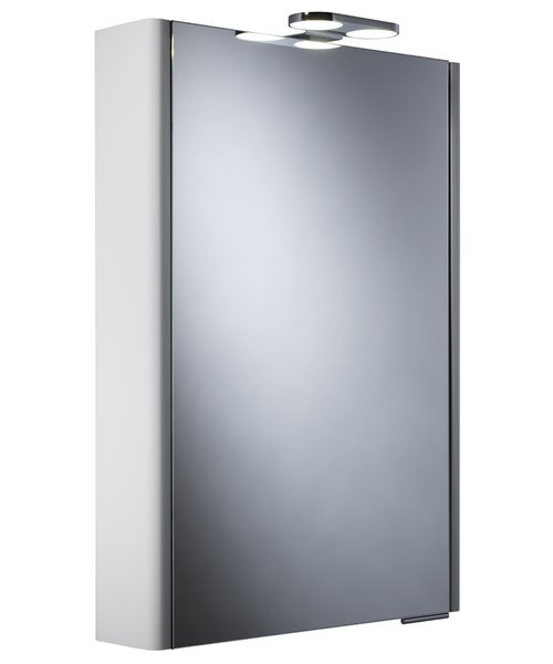 Roper Rhodes Definition Phase Single Mirror Cabinet With Lighting