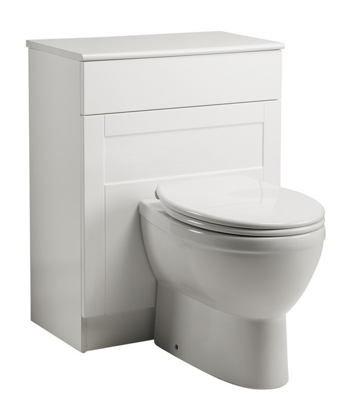 Roper Rhodes New England 620mm White Back To Wall WC Unit
