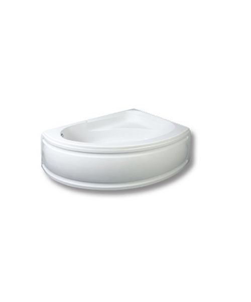 Trojan Florida White Left Handed Offset Corner Bath 1495 x 1030mm