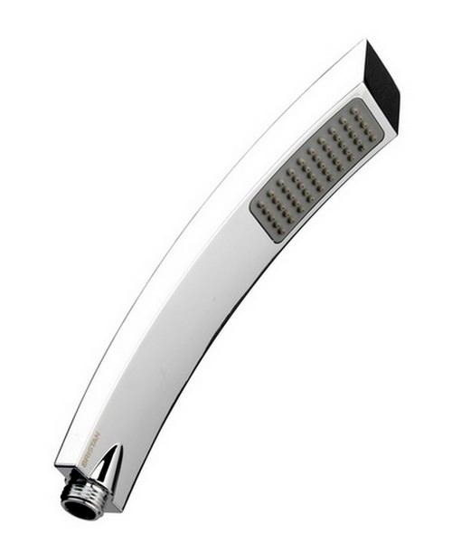 Bristan Arc Single Function Rub Clean Shower Handset