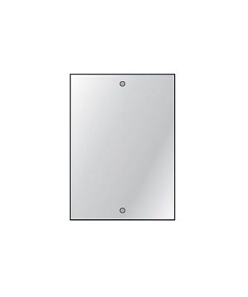 HIB Drilled Bathroom Mirror 4mm Float Glass 250 x 350mm - 6 Per Pack